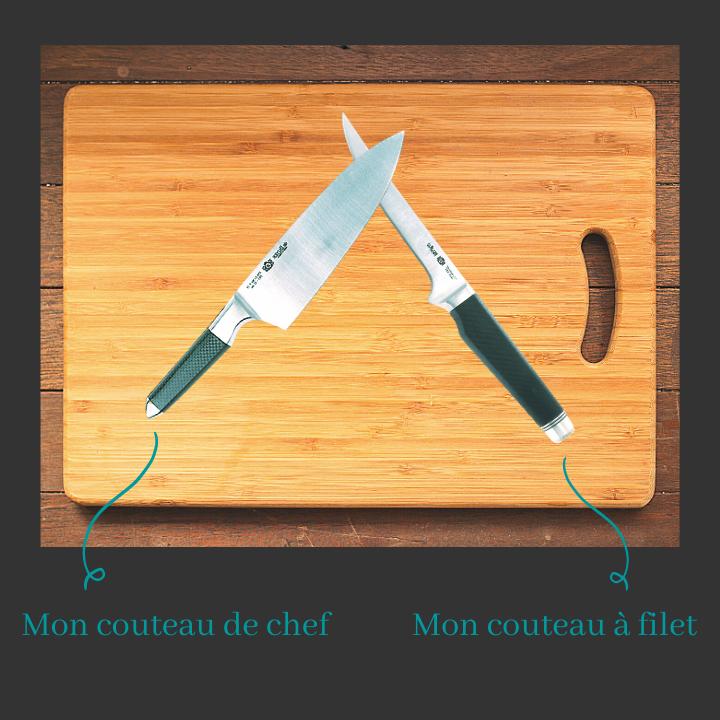couteaux cuisine inox
